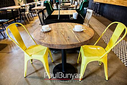 Furniture for restaurants and cafes