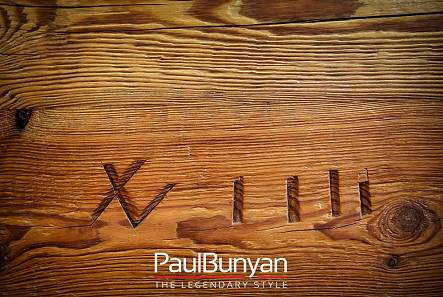 Wooden tabletops from old wood