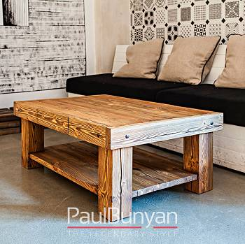 ARIZONA old wood coffee table
