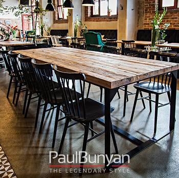 HAWAII reclaimed wood industrial table