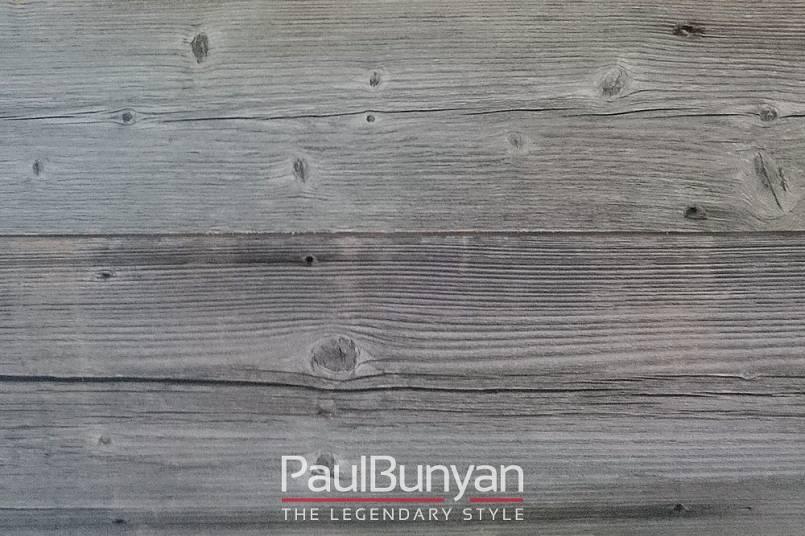Boazeria Na ścianę Ze Starego Drewna Szara Najlepsza