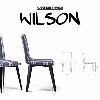 WILSON dining room and living room chair