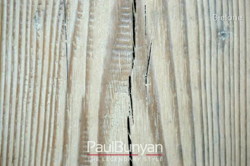 Drewniany Stolik Ze Starego Drewna Do Restauracji Lub Kawiarni Bielony