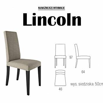 LINCOLN dining room and living room chair