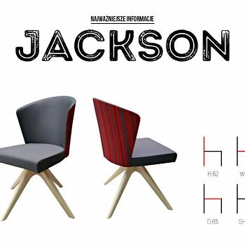 JACKSON dining room and living room chair