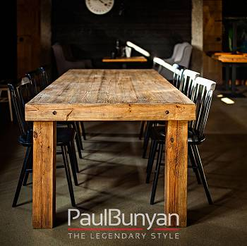 ARIZONA reclaimed old wood dining table