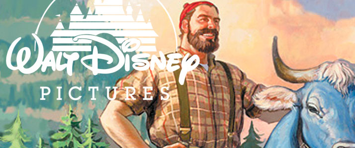 Legenda Paul Bunyan Disney